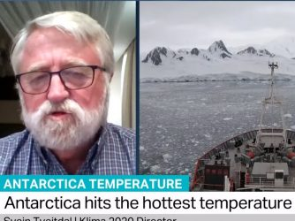 #Antarctica #hightemperature #climatechange Antarctica Temperature: Svein Tveitdal, Klima 2020 Director