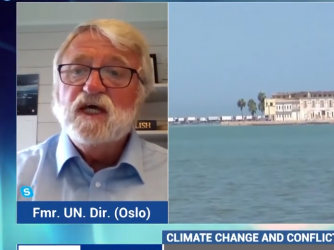 Climate emergency as an increasing danger to peace