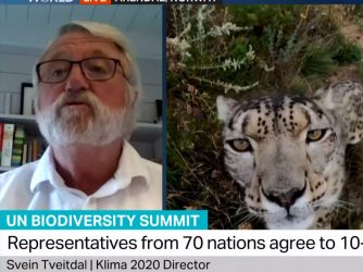 Biodiversity and Climate - Svein Tveitdal on TRT News