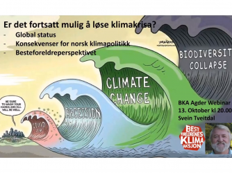 Er det fortsatt mulig å løse klimakrisa ?